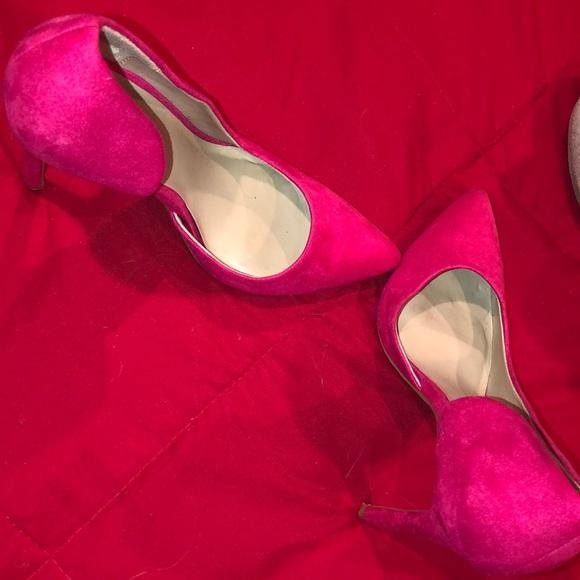 DSW Shoes | Hot Pink Heels | Poshmark